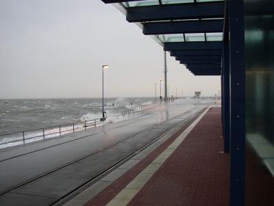 Dagebüll Sturm Faehre