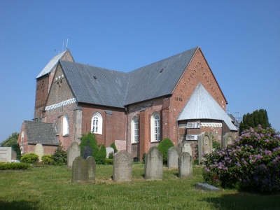 Friesendom St. Johannis Kirche Nieblum