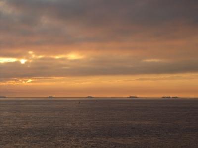 Hallig Langeness Sonnenaufgang