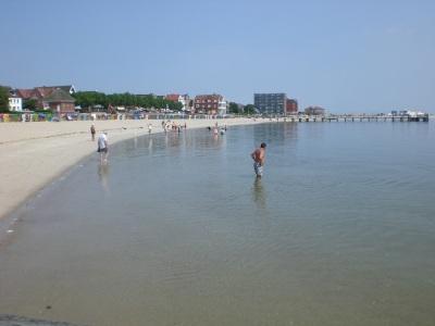 Sommer Sonne Strand Flut