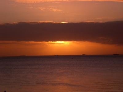 Sonnenaufgang Halligen 2008