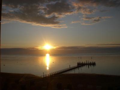 Sonnenaufgang Seglerbruecke