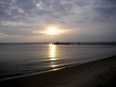 Sonnenaufgang Seglerbrücke Wyk