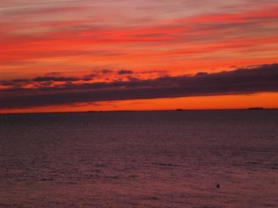 Sonnenaufgang Wyk Föhr