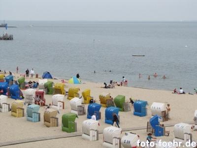 Strand Wyk Hochsommer
