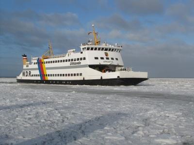 Uthlande Eis Winter Dagebüll