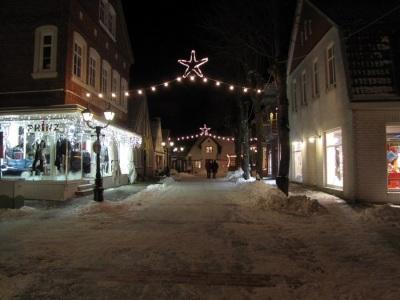 Weihnachten Wyk Mittelstrasse 2010