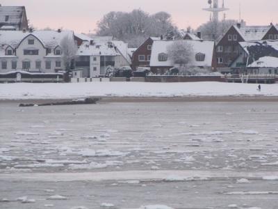 Winter Ankunft Föhr
